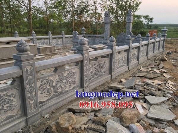 110 Mẫu lan can tường rào nhà thờ họ đình đền chùa miếu khu lăng mộ bằng đá chạm khắc tinh xảo tại Quảng Trị