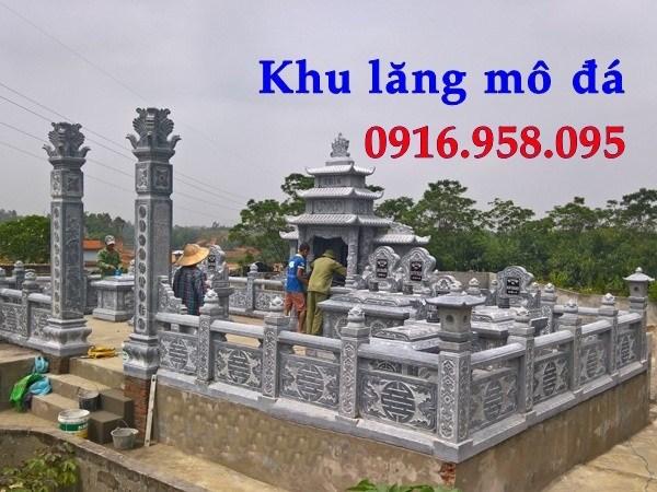 110 Mẫu lan can tường rào nhà thờ họ đình đền chùa miếu khu lăng mộ bằng đá thiết kế đẹp tại Quảng Trị