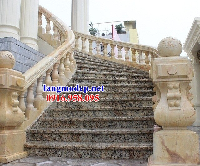 110 Mẫu lan can tường rào nhà thờ họ đình đền chùa miếu khu lăng mộ bằng đá vàng tại Quảng Trị
