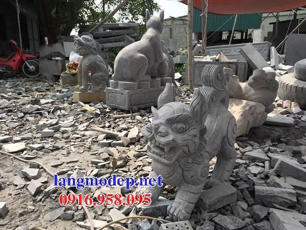 110 Mẫu nghê phong thủy nhà thờ họ đình đền chùa miếu khu lăng mộ bằng đá Ninh Bình tại Quảng Trị