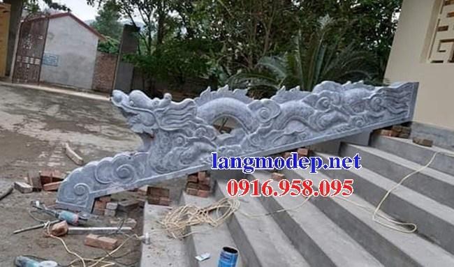 110 Mẫu rồng bậc thềm nhà thờ họ đình đền chùa miếu khu lăng mộ bằng đá tại Quảng Trị