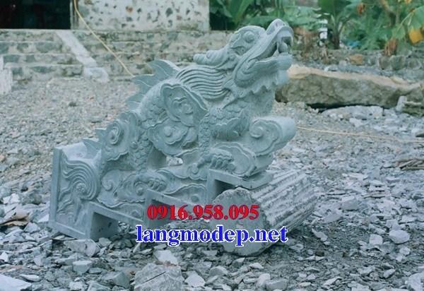 110 Mẫu rồng nhà thờ họ đình đền chùa miếu khu lăng mộ bằng đá xanh tại Quảng Trị