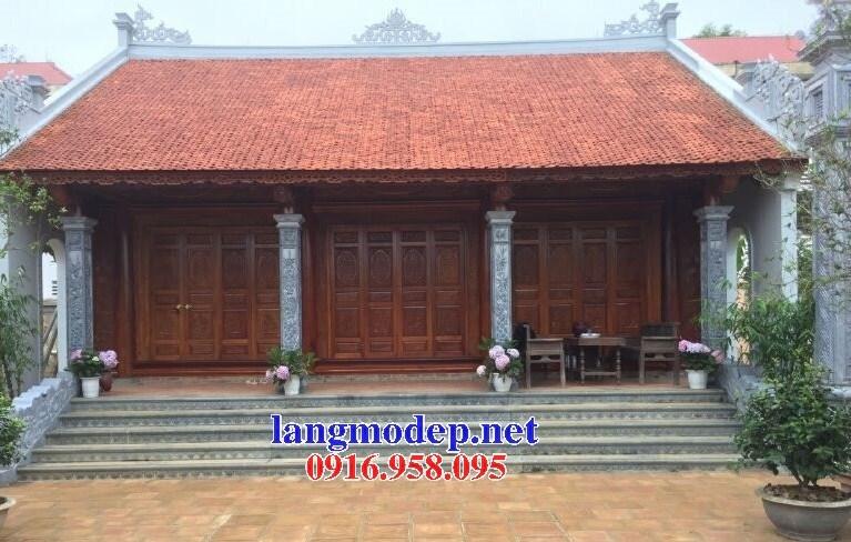 Mẫu Địa chỉ bán báo giá cột đá đồng trụ nhà thờ họ đình chùa miếu bằng đá tại Long An
