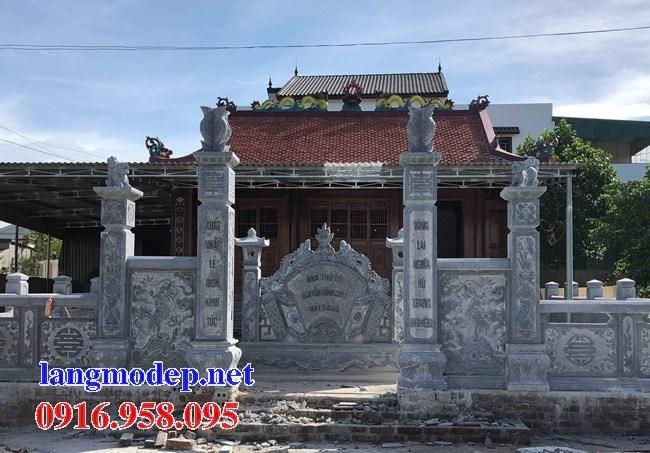 Mẫu cổng nhà thờ họ bằng đá tại Bà Rịa Vũng Tàu