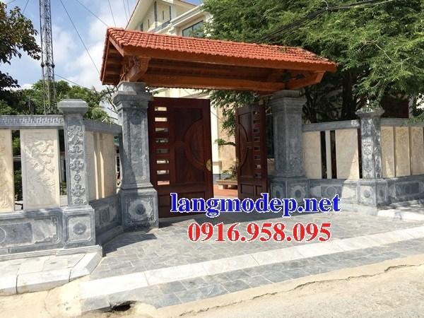 Mẫu cổng nhà thờ họ bằng đá tại Trà Vinh