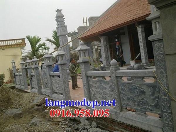 Mẫu cổng nhà thờ họ từ đường bằng đá tại Bà Rịa Vũng Tàu