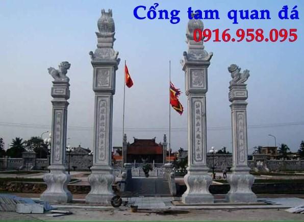 Mẫu cổng tam quan nhà thờ họ đình đền chùa miếu bằng đá tự nhiên tại Trà VinhMẫu cổng tam quan nhà thờ họ đình đền chùa miếu bằng đá tự nhiên tại Trà Vinh