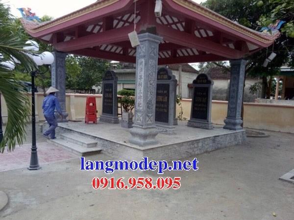 Mẫu cột đá đồng trụ nhà thờ họ đình đền chùa miếu bằng đá kích thước chuẩn phong thủy tại Cà Mau