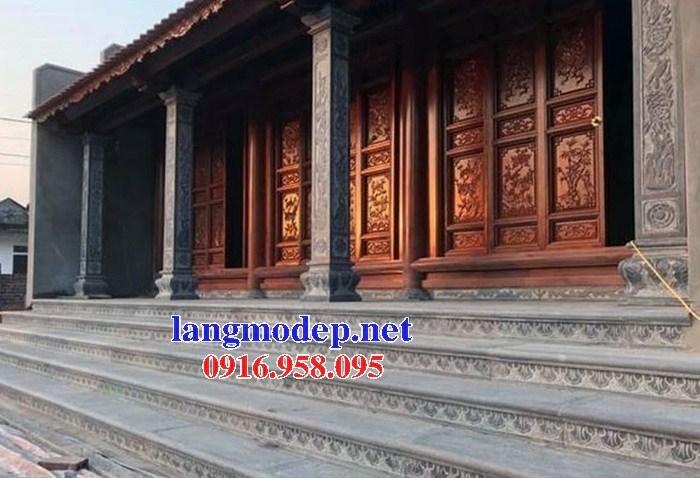 Mẫu cột đá đồng trụ nhà thờ họ đình đền chùa miếu tại Cần Thơ