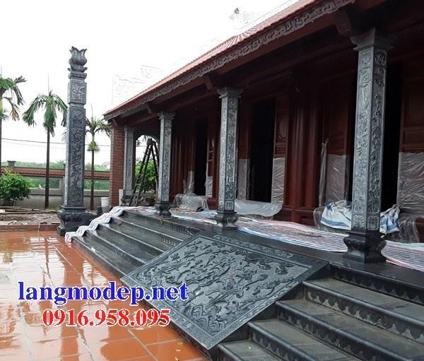 Cột đá cột đồng trụ nhà thờ họ bằng đá tại Tây Ninh