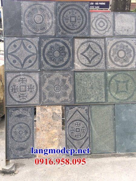 Mẫu đá lát nền ốp tường nhà thờ họ từ đường đình đền chùa miếu khu lăng mộ bằng đá bán tại Tây Ninh