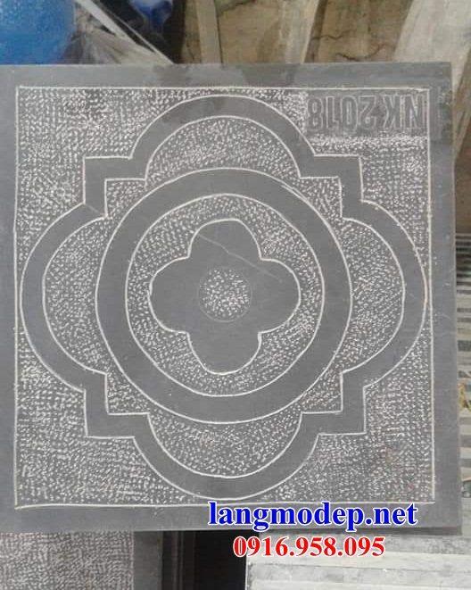 Mẫu đá lát nền ốp tường nhà thờ họ từ đường đình đền chùa miếu khu lăng mộ bằng đá chạm khắc tinh xảo tại Tây Ninh