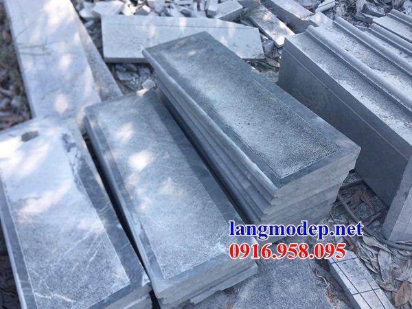 Mẫu đá lát nền ốp tường nhà thờ họ từ đường đình đền chùa miếu khu lăng mộ bằng đá xanh tại Tây Ninh