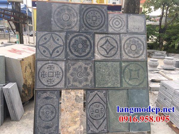 Mẫu đá lát nền nhà thờ họ tại Long An