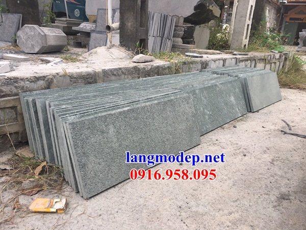 Mẫu đá lát nền nhà thờ họ từ đường đình đền bằng đá Thanh Hóa tại Trà Vinh