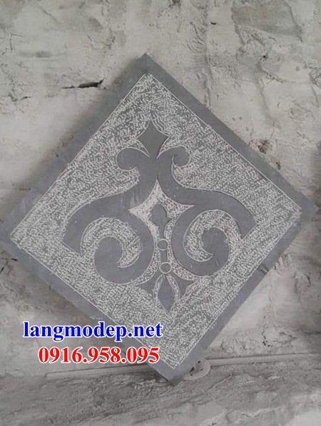 Mẫu đá lát nền nhà thờ họ từ đường đình đền bằng đá chạm khắc tinh xảo tại Kiên Giang