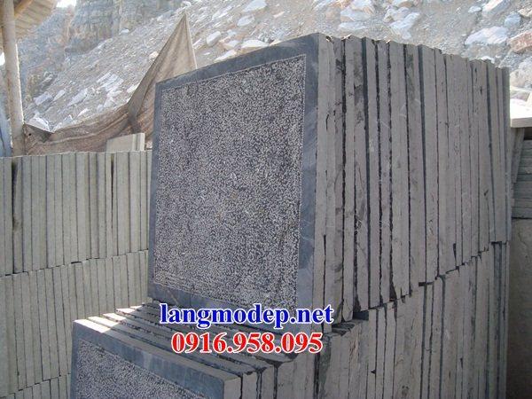 Mẫu đá lát nền nhà thờ họ từ đường đình đền bằng đá tại Kiên Giang