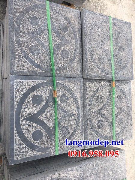 Mẫu đá lát nền nhà thờ họ từ đường đình đền bằng đá thiết kế đẹp tại Trà Vinh