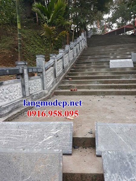 Mẫu đá lát nền nhà thờ họ từ đường đình đền bằng đá thi công lắp đặt tại Trà Vinh