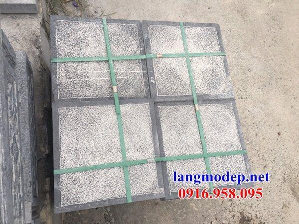 Mẫu đá lát nền nhà thờ họ từ đường đình đền chùa bằng đá tại Cà Mau