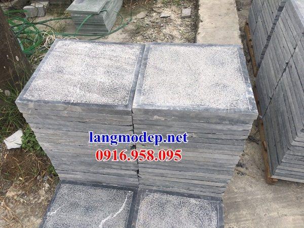 Mẫu đá lát nền nhà thờ họ từ đường đình đền chùa bằng đá thiết kế cơ bản tại Cà Mau