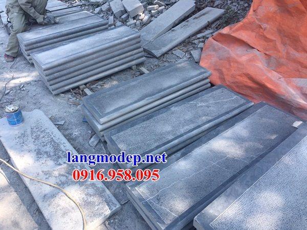 Mẫu đá lát nền nhà thờ họ từ đường đình chùa bằng đá Thanh Hóa tại Sóc Trăng