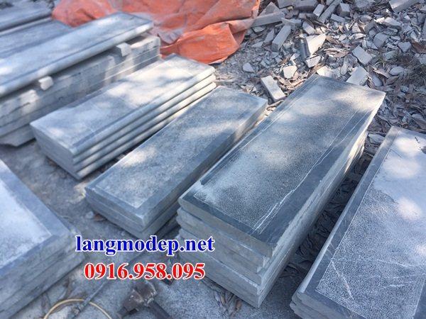 Mẫu đá lát nền từ đường nhà thờ họ đình chùa bằng đá nguyên khối tại Bà Rịa Vũng Tàu