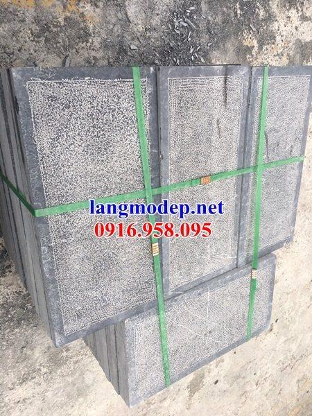 Mẫu đá lát nền từ đường nhà thờ họ đình chùa bằng đá nguyên khối tại Vĩnh Long