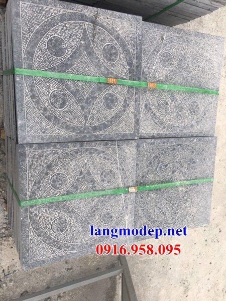 Mẫu đá lát nền từ đường nhà thờ họ đình chùa bằng đá thiết kế đẹp tại Tiền Giang