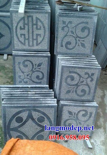 Mẫu đá lát nền từ đường nhà thờ họ đình chùa bằng đá thiết kế hiện đại tại Hậu Giang