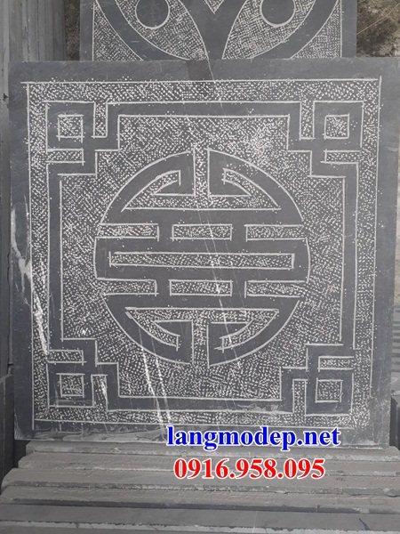 Mẫu đá lát nền từ đường nhà thờ họ đình chùa bằng đá thi công lắp đặt tại Bà Rịa Vũng Tàu