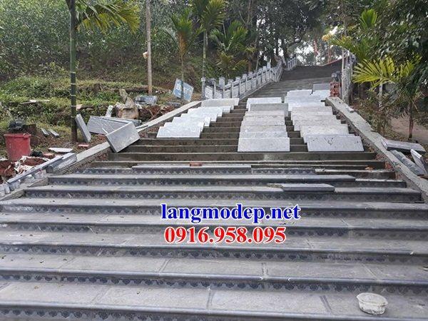 Mẫu đá lát nền từ đường nhà thờ họ đình chùa bằng đá thi công lắp đặt tại Tiền Giang