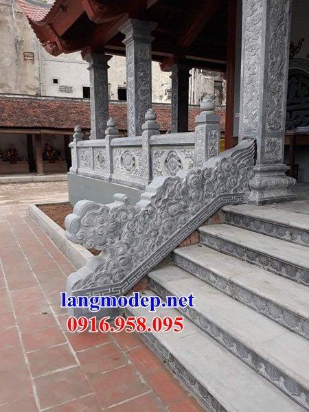 Mẫu đá lát nền từ đường nhà thờ họ đình chùa bằng đá xanh tại Bà Rịa Vũng Tàu