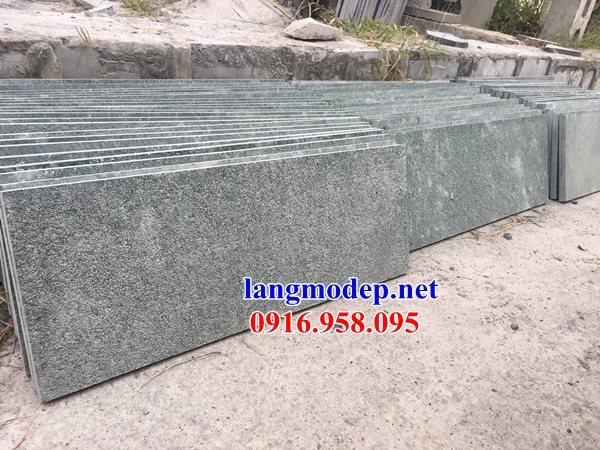 Mẫu đá lát nền từ đường nhà thờ họ đình chùa tại Hậu Giang