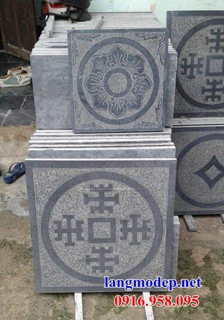Mẫu đá lát nền từ đường nhà thờ họ chùa miếu bằng đá mỹ nghệ tại Đồng Tháp