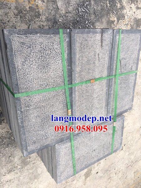 Mẫu đá lát nền từ đường nhà thờ họ chùa miếu bằng đá nguyên khối tại Ninh Bình