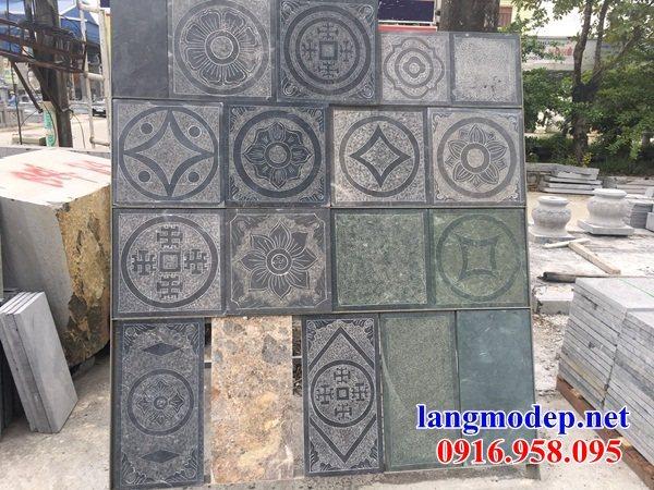 Mẫu đá lát nền từ đường tại Hậu Giang