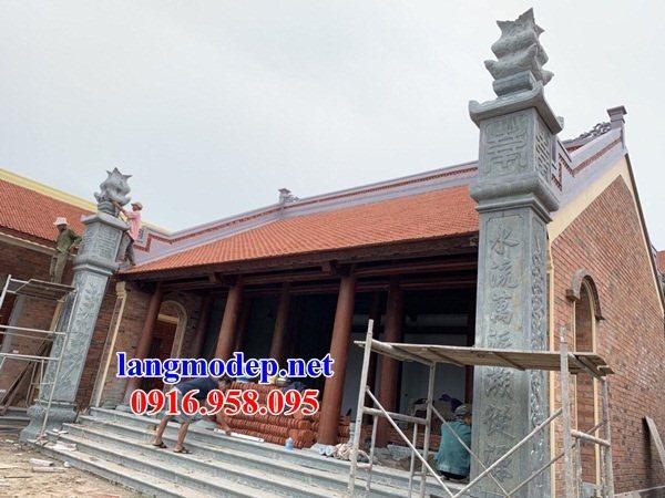 Mẫu đá lát nền từ đường tại Ninh Bình