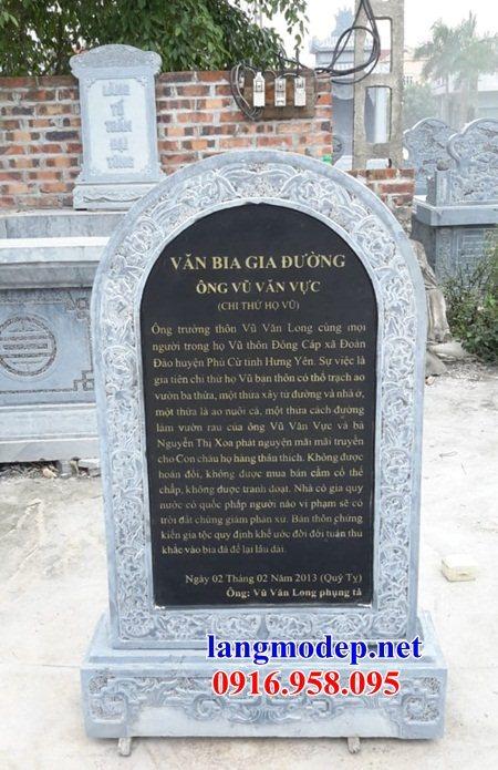 Mẫu bia ghi danh rùa đội bia khu di tích bằng đá kích thước chuẩn phong thủy tại Trà Vinh