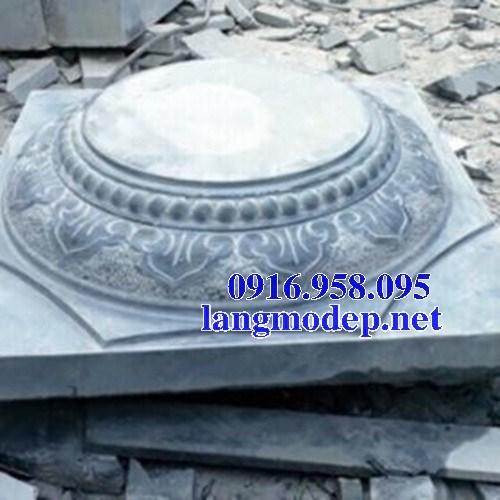 Mẫu chân cột nhà thờ họ đình đền chùa miếu bằng đá tự nhiên cao cấp tại Vĩnh Long
