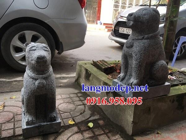 Mẫu chó đá đình đền chùa miếu tại Bà Rịa Vũng Tàu