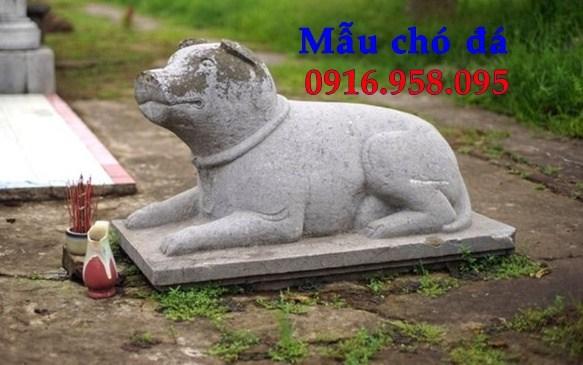 Mẫu chó đá đình đền chùa miếu tại Cao Bằng