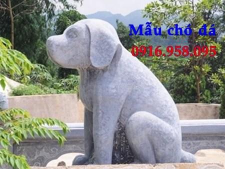 Mẫu chó đá đình đền chùa miếu tại Kiên Giang