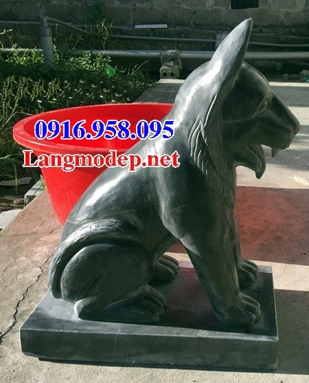 Mẫu chó tư gia nhà thờ họ đình đền chùa miếu bằng đá tự nhiên cao cấp tại Kiên Giang