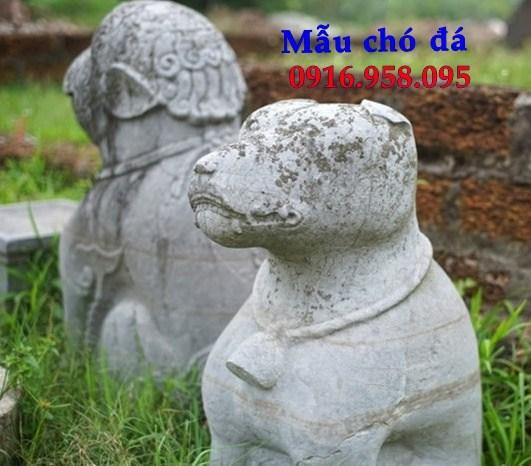 Mẫu chó từ đường đình đền chùa miếu bằng đá Thanh Hóa tại An Giang
