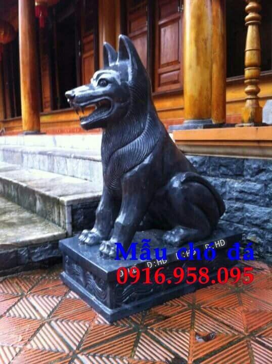 Mẫu chó từ đường đình đền chùa miếu bằng đá tự nhiên cao cấp tại An Giang