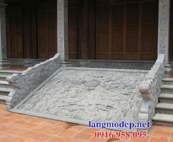 Mẫu chiếu rồng nhà thờ họ từ đường đình đền chùa miếu bằng đá tại Vĩnh Long