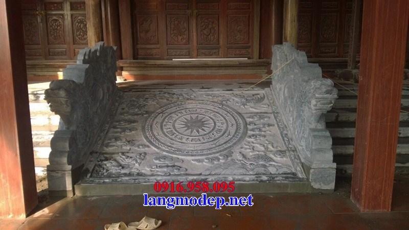 Mẫu chiếu rồng nhà thờ họ từ đường đình đền chùa miếu bằng đá thiết kế đẹp tại Trà Vinh