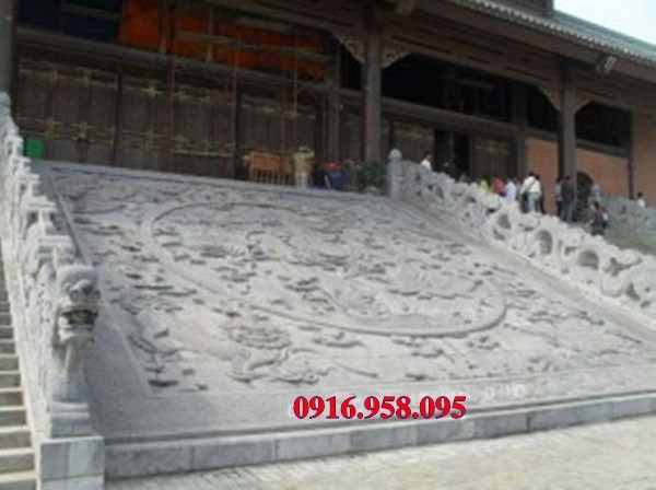 Mẫu chiếu rồng nhà thờ họ từ đường bằng đá tại Vĩnh Long