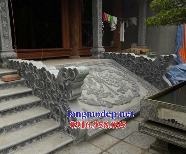 Mẫu chiếu rồng từ đường bằng đá mỹ nghệ tại Bạc Liêu